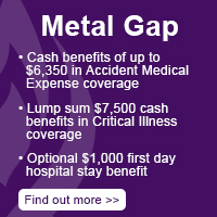 Metal Gap Coverage